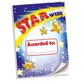 'Star of the Week' 50 Page A4 Lined Notepad
