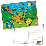 Mr Men & Little Miss Postcards Home (20 Postcards - A6)