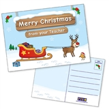 Merry Christmas Postcards Home (10 Postcards - A6)