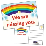 We Are Missing You Postcards (20 Postcards - A6)