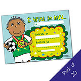I tried so hard Certificates - Pedagogs - Boy (20 certificates - A5)