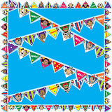 Pedagogs Display Borders - Bunting (10.8m)