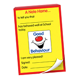 Good Behaviour Grin Praisepadz -  Note Home (50 Pages - A6)