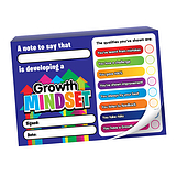 Growth Mindset Praisepad - 60 Notes Home (A6 Landscape)