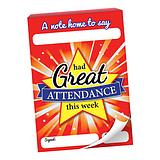 Great Attendance Praisepad - 60 Notes Home (A6)