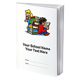 Personalised Reading Record Book - Children (A5 - 40 Pages)