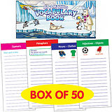 Polar Themed Vocabulary Book - Box of 50