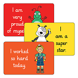 32 x Mixed Pedagogs 46mm x 30mm Stickers