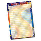 Target Sticker Collector Chart (A2 - 620mm x 420mm)
