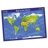 Map of the World Poster (A2)