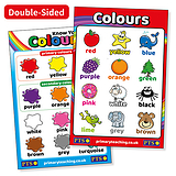 Know Your Colours (Double-sided - 620mm x 420mm)