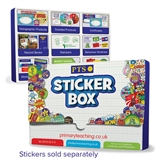 Plastic Sticker Box