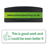 Good Work Could Be Better If Stakz Stamper - Green Ink (44mm x 13mm)