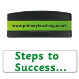 Steps to Success Stakz Stamper - Green Ink (44mm x 13mm)