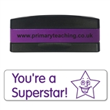 You're a Superstar Stakz Stamper - Purple Ink (44mm x 13mm)