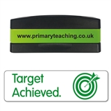 Target Achieved Stakz Stamper - Green Ink (44mm x 13mm)