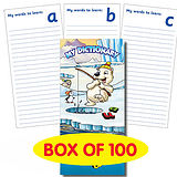 Pack of 100 Polar Themed Spelling Book Dictionary