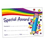 Scented Sherbert Certificates - Special Award (20 Certificates - A5)