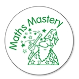 Maths Mastery Stamper - Green Ink (25mm)
