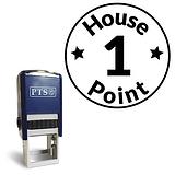 1 House Point' Stamper - Black Ink (21mm)