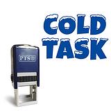 Cold Task' Stamper - Blue Ink (25mm)