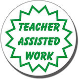 Teacher Assisted Work Stamper (21mm)