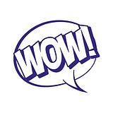 WOW! Speech Bubble Stamper - Blue Ink (25mm)