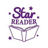 Star Reader Stamper - Purple Ink (25mm)
