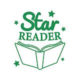 Star Reader Stamper - Green Ink (25mm)