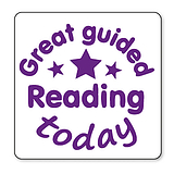 Great Guided Reading Today Stamper - Purple (25mm) Brainwaves