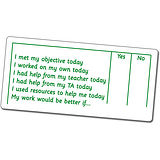 Self Assessment APP Stamper Green Ink (72mm x 34mm)