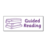 Guided Reading Stamper - Purple Ink (38mm x 15mm)
