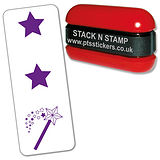 Two Stars and a Wish Stamper - Stack N Stamp