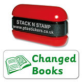 Changed Books Stamper - Stack N Stamp