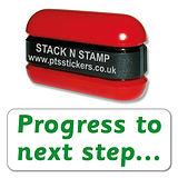 Progress to Next Step Stack & Stamp