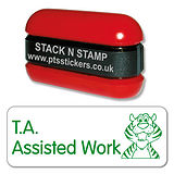 T.A. Assisted Work Stamper - Stack N Stamp