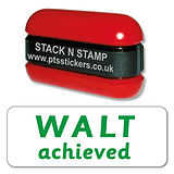 WALT (We Are Learning To) achieved Stack & Stamp - Green Ink (38mm x 15mm)