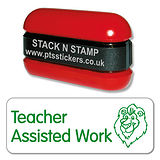 Teacher Assisted Work - Stack N Stamp