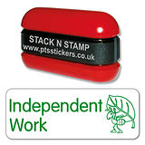 Independent Work Stamper - Stack N Stamp