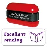 Excellent Reading Stamper - Stack N Stamp