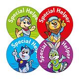 Special Helper Stickers (20 Stickers - 32mm) Brainwaves