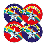 Star of the Week Stickers (32mm - 20 Stickers)