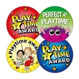 Playtime Award Stickers (20 Stickers - 32mm) Brainwaves