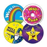 Assorted Reward Stickers (20 Stickers - 32mm)