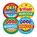 Behaviour Reward Stickers (20 Stickers - 32mm) Brainwaves