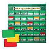 Traffic Light Behaviour Management Scheme Starter Set Green Holder