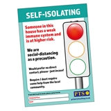 Self-Isolating Poster - A4