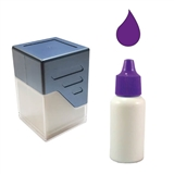 10ml Purple Ink Refill for Personalised Stampers