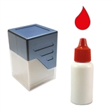 Ink Refill for Customised Stampers - Red (10ml)
