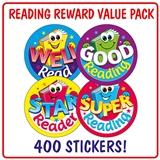 Reading Stickers (400 Stickers - 32mm) Brainwaves